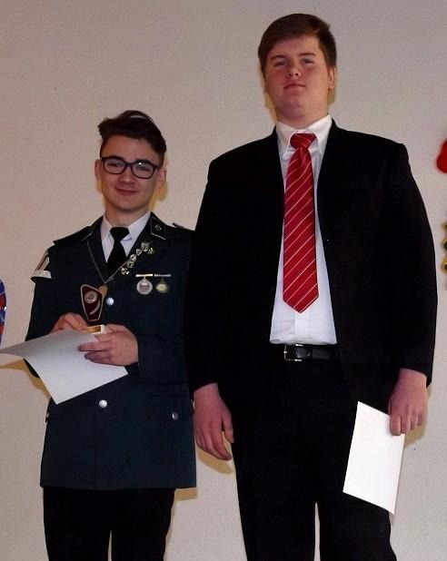 Jan Phillip Bryllowski wurde erster und Jannis von der Hocht zweiter bei der Jugend