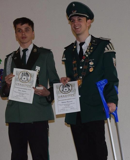 Felix Anders siegte bei den Junioren, Nikolaj Bozicevic wurde Zweiter
