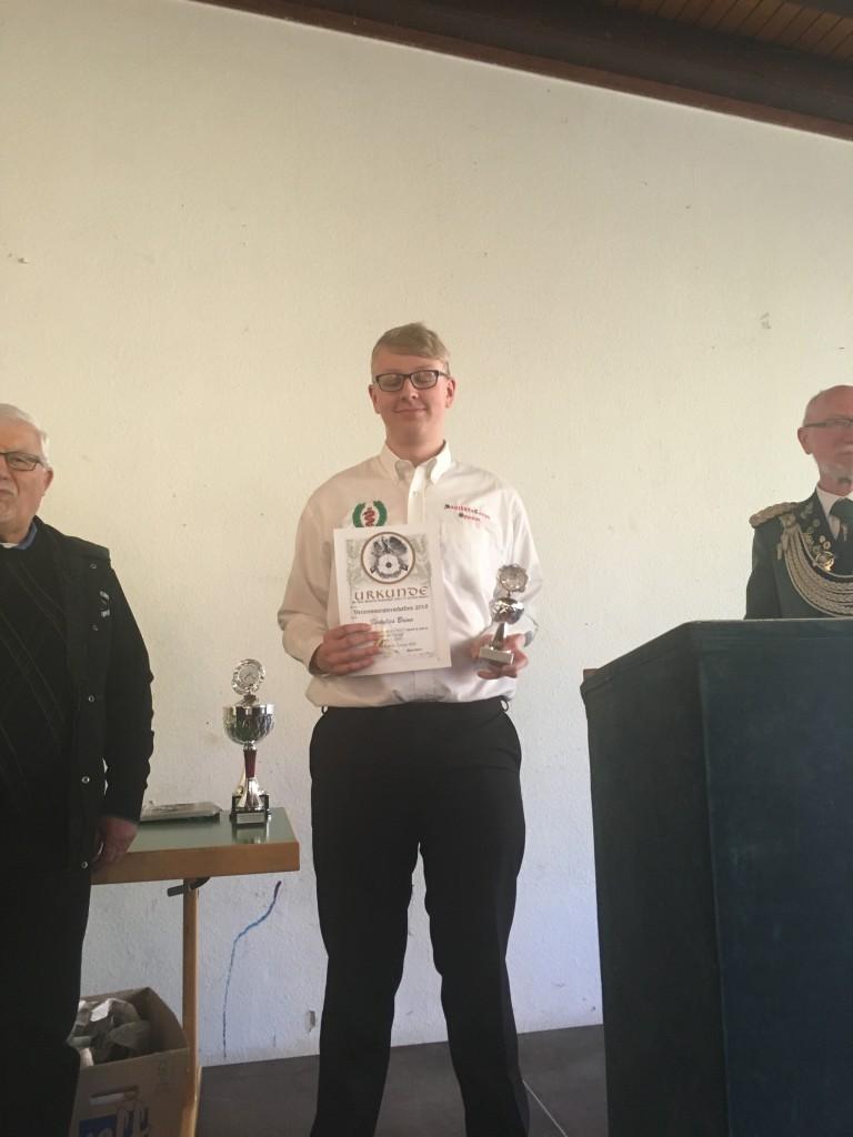 Sieger Schüler und Jugend: Brian Bertulies