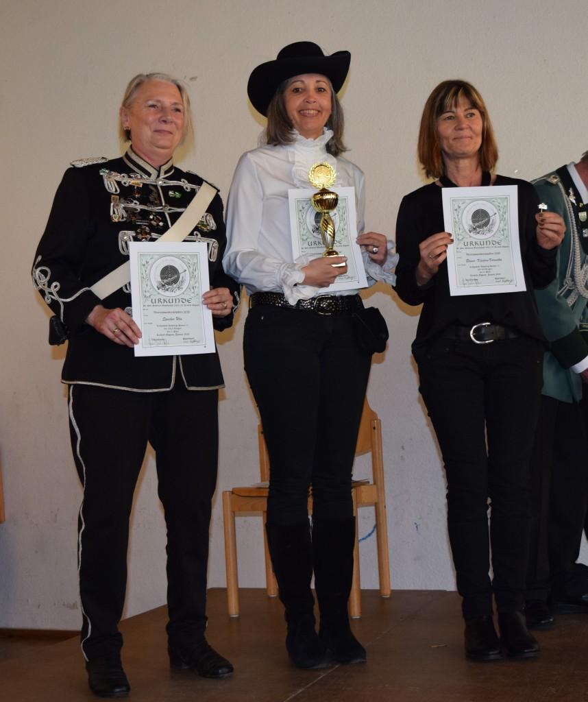 Sieger Damen II-IV