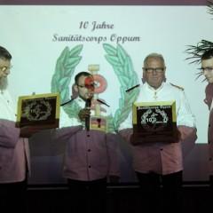 SanitätsCorps Oppum feierte 10-jähriges Bestehen